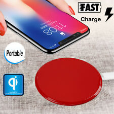 Qi Wireless Fast Charger Charging Pad For iPhone 8 X Samsung Note 8 S9 S8 Plus
