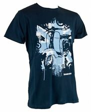 Lambretta Mens Union Scooter T Shirt Navy  (SS1213)