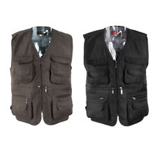 Men Fly Fishing Vest Outdoor Sports Breathable Hunting Hiking Fisherman Vest