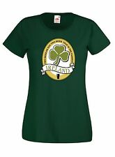 T-shirt Maglietta donna J1191 Two Beer Or Not Beer San Patrizio Guinness