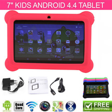 "7"" ANDROID 4.4 KIDS TABLET PC QUAD CORE WIFI Camera Kitoch CHILD CHILDREN LOT D"