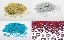Heart confetti table decoration sparkle wedding scatter sprinkles party