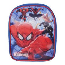 Boys Marvel Ultimate Spider-man Characters 3D Backpack School Bag Small Rucksack