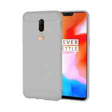 For OnePlus 6 Slim TPU Gel Rubber Cover Case