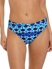Fantasie Tuscany Classic Twist Brief 6518 Mid Rise Swimwear XS S M L XL - Ink