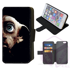 HARRY POTTER Dobby Wallet Flip Phone Case iPhone Compatible (E)
