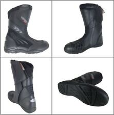 Viper 856 Largo Motocicleta Touring Road Scooter Impermeable Botas Negras