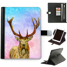 hairyworm CERVO CERVO pelle Deluxe Apple iPad 360 girevole Custodia tablet cover