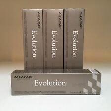 ALFAPARF Evolution Permanent Cosmetic Hair Coloring Cream ~Metallic Silver Tones