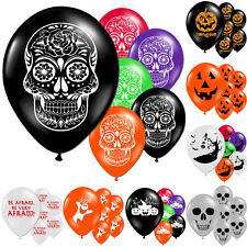"""Halloween Horror Haunted Children's Party Printed 11"""" Latex Balloons Decorations"""