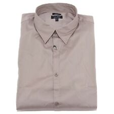 7284W camicia uomo ARMANI JEANS FITTED grey shirt men