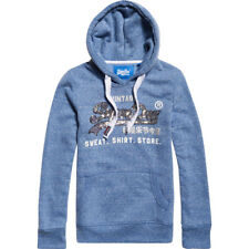 Superdry Damen Hoodie SHIRT SHOP SEQUIN ENTRY HOOD