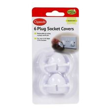 Clippasafe UK PLUG SOCKET COVERS ELECTRICAL BABY Child SAFETY Protector New