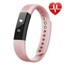 LETSCOM Fitness Tracker HR, Watch with Heart Rate Monitor, Slim Touch Screen...