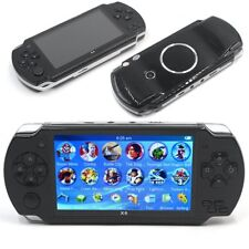 NEW 4.3'' SCREEN 4GB 32 BIT FAST VIDEO HANDHELD X6 Classic Games GAMING CONSOLE