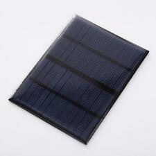 Portable Power Solar Panel For Battery Charger 6V 330mA 2W 110mm × 136mm . E9E1