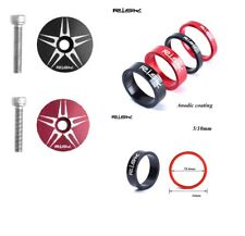 RISK HEADSET CAP  &  2 PIECE SPACER SET - CHOICE OF COLOURS & HEAD SPACER SIZE