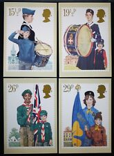 PHQ58 postcard Youth Organisations Boy Girls Brigade Scouts Cubs Guides Brownies
