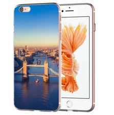 Blitz® STAMPS ENGLAND TRANSPARENT Hülle HTC Huawei Smartphone Handy Soft Case
