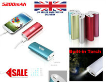 ⚡5200mAh⚡Power Bank USB Battery Charger universal mobile pocket camping torch