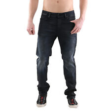 Jack & Jones Uomo Slim Jeans da Jogging Tim Leon Blu Scuro BL812 2. Wahl