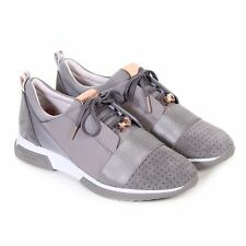 Ted Baker Women's Cepa Textile Lace Up Trainer Dark Grey