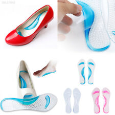 Silicone Gel Foot Protector Cushion Feet Care Shoe Insert Pad Insole Foot EEA7