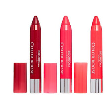 BOURJOIS COLOR BOOST GLOSSY FINISH LIPSTICK SPF 15 * CHOOSE TYPE & COLOUR NEW *