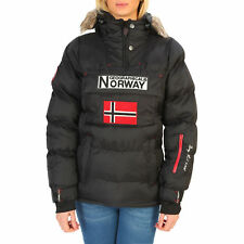 87346Geographical Norway Giacca Geographical Norway Donna Nero 87346 Giacche Don