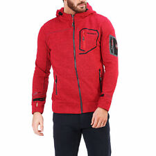 87354Geographical Norway Felpa Geographical Norway Uomo Rosso 87354 Felpe Uomo