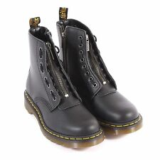 Dr Martens Women's 1460 Pascal Front Zip Nappa Leather Boot Black
