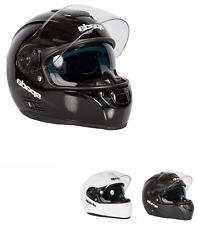 Spada Motorcycle Motorbike SP16 Full Face Plain Road Crash Helmet M/F