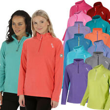 Regatta Womens/Ladies Montes Half Zip Lightweight Microfleece Top