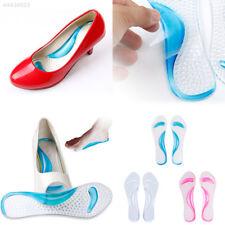 AF74 Silicone Gel Foot Protector Cushion Feet Care Shoe Insert Pad Insole Foot