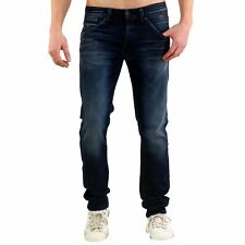 Jack & Jones Uomo Slim Jeans da Jogging Pantaloni Glenn Fox Blue BL624
