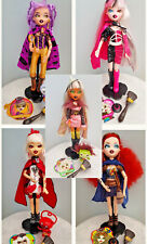 BRATZILLAZ - HOUSE OF WITCHEZ GLAM GETS WICKED DOLLS - 2012 FIRST EDITION - Rare