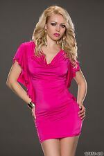 Women's Party Club Wear Chic Mini Dress UK size 8-10 Colours Available