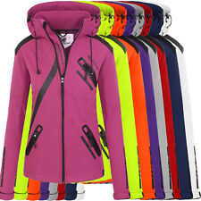 Rock Creek Giacca Softshell Donna Transizione a Vento Impermeabile D-371