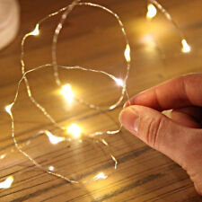 D20E 2M 20 LED String Copper Wire Fairy Lights Battery Operated Xmas Decor