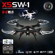 0527 X5SW-1 0.3MP WIFI Camera Drone FPV 2.4G 4CH 6-Axis RC Quadcopter HD RTF