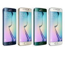 Samsung Galaxy S6 Edge 32GB SM-G925F Unlocked Black White Gold Green Android