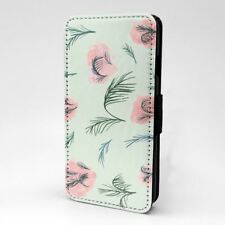 Helechos Diseño Estampado Funda Libro para Apple Iphone - P1153