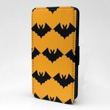 Halloween Murciélagos Diseño Estampado Funda Libro para Apple Iphone - P381