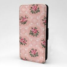 Diseño con Estampado Floral Estampado Funda Libro para Apple Iphone - P1155