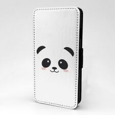 Panda Diseño Estampado Funda Libro para Apple Iphone - P1109