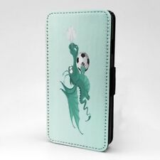 Fútbol Estampado Dragón Diseño Funda Libro para Apple Iphone - P239