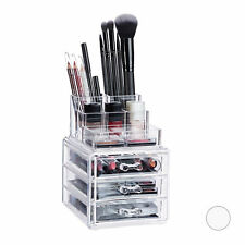 Cosmetic Organiser with 3 Drawers, Acrylic Makeup Kit, Lipstick Holder, Large