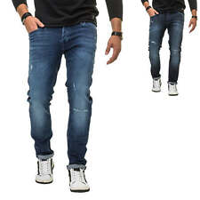 Jack & Jones Herren Jeans Slim Fit Stretch Distressed Denim Jeanshose Herrenhose