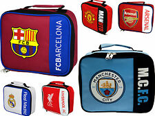 edec8fc4f319 Chelsea FC Football Insulated Lunch Bag Official Club Lightening Soft ...