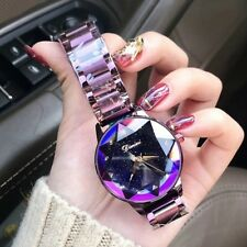 2018 Luxury Brand lady Crystal Watch Stainless Steel Wristwatches